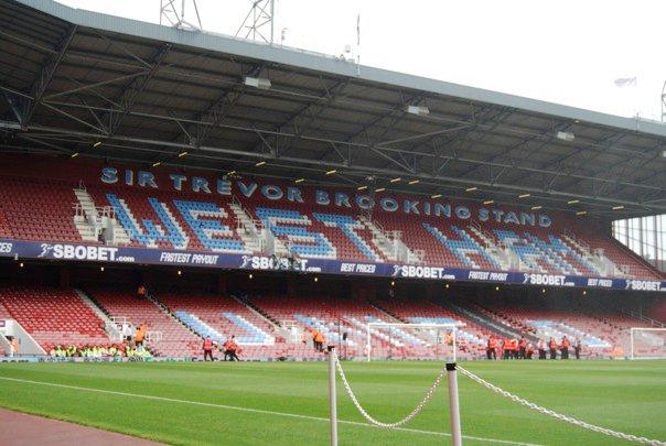 The Sir Trevor Brooking Stand, The Boleyn Ground